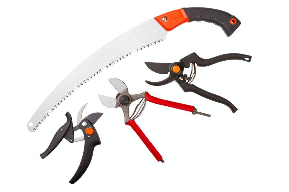 инструменты для обрезки яблонь